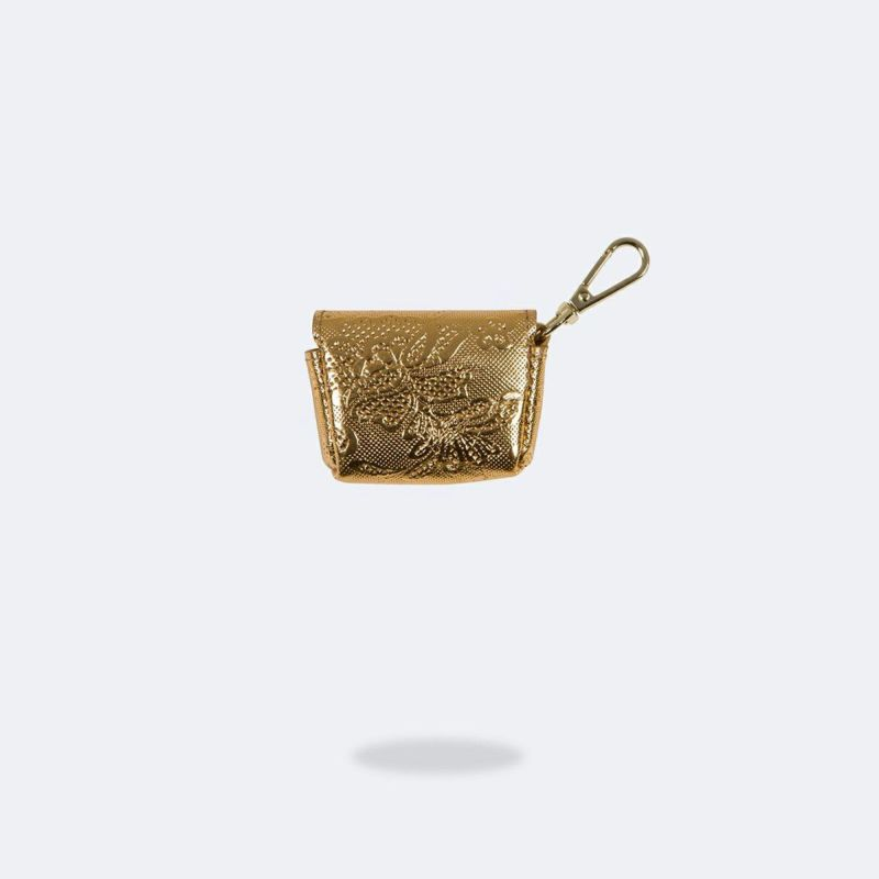 AirPods Pro POUCH GOLD LACE エアーポッズ プロ ポーチ ゴールド レース