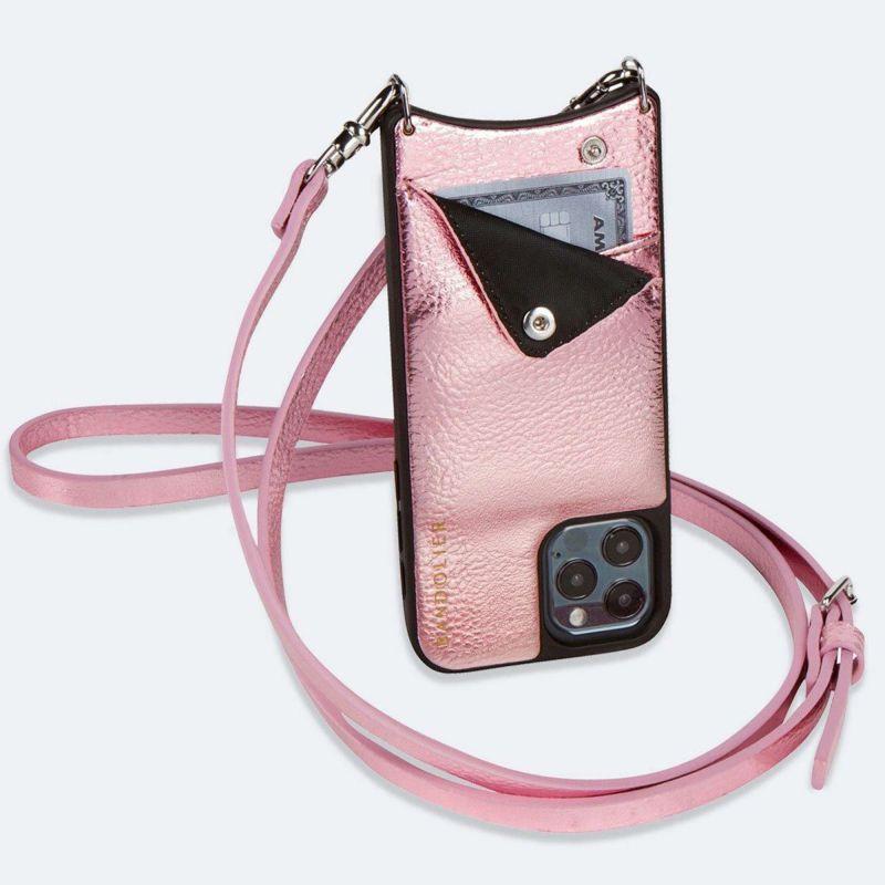 【iPhone SE/8/7/6s/6】EMMA METALLIC PINK エマ メタリックピンク