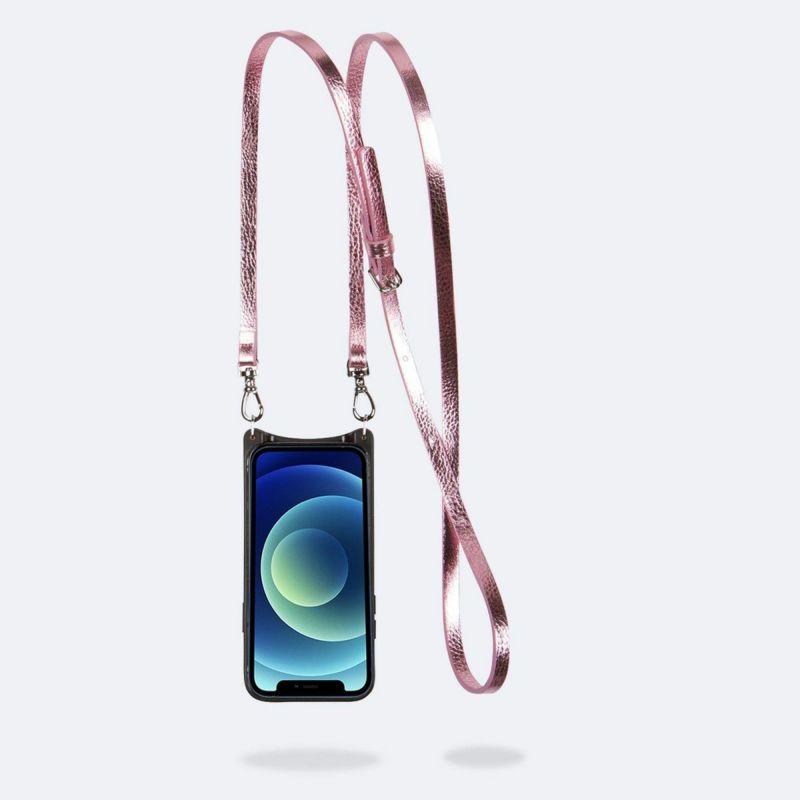 【iPhone 12 Pro Max】EMMA METALLIC PINK エマ メタリックピンク