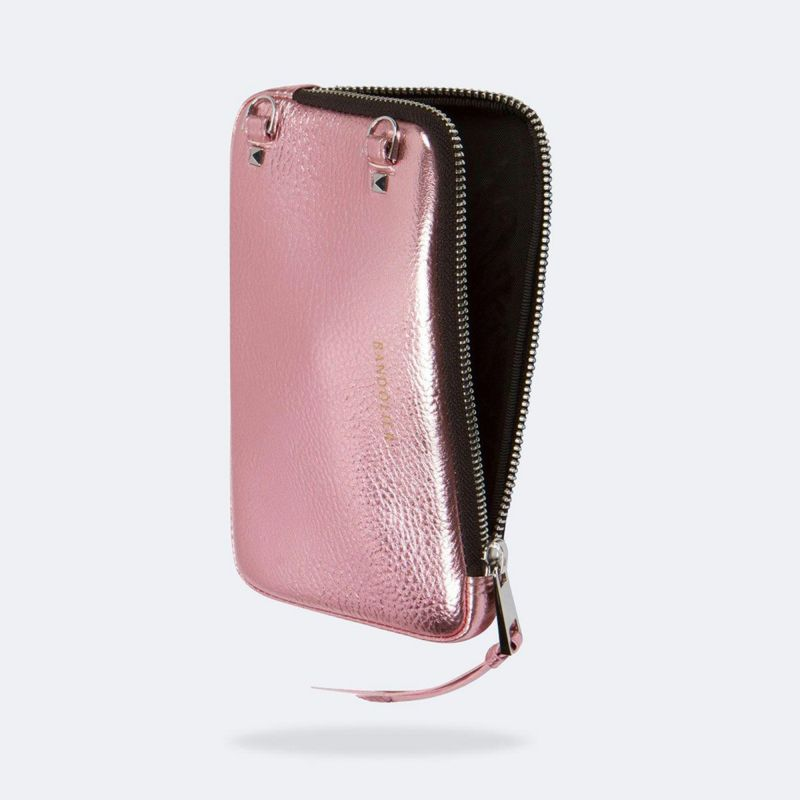 EXPANDED METALLIC PINK POUCH エキスパンデッド メタリック ピンク ポーチ
