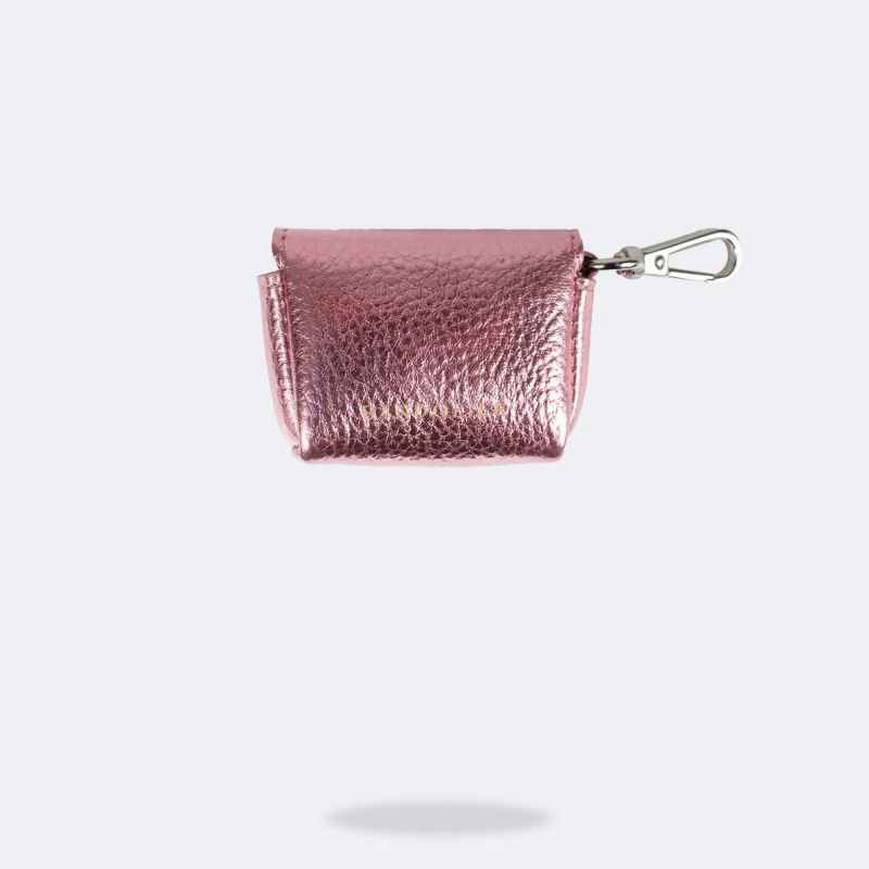 AirPods Pro POUCH METALLIC PINK エアーポッズプロ ポーチ メタリックピンク