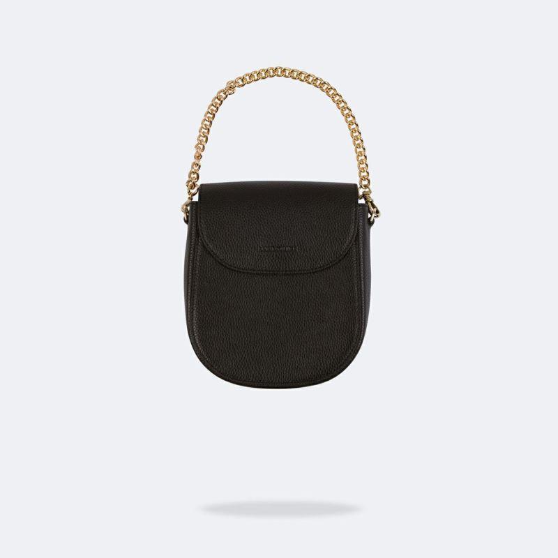 【iPhoneSE/8/7/6s/6】SHAY BLACK BAG シェイ ブラック バッグ