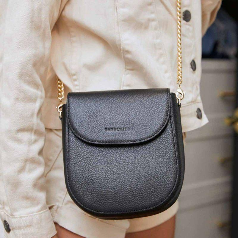 【iPhone 11 Pro】SHAY BLACK BAG シェイ ブラック バッグ