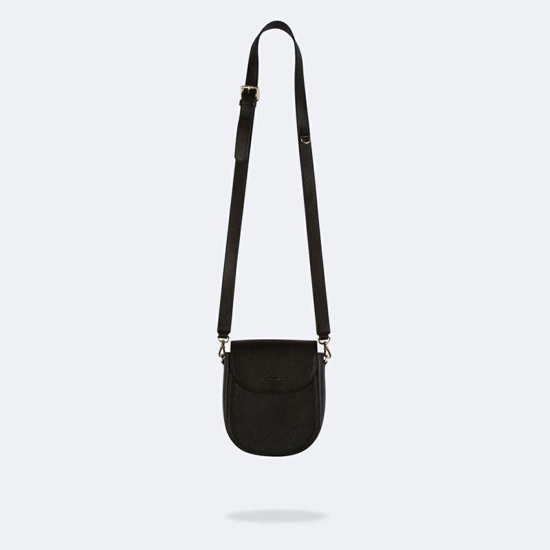 【iPhone 12 Pro/12】SHAY BLACK BAG シェイ ブラック バッグ