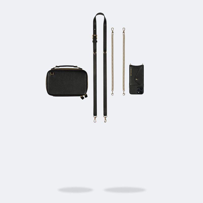 【iPhone 11 Pro】CAMERON BLACK BAG キャメロン ブラック バッグ