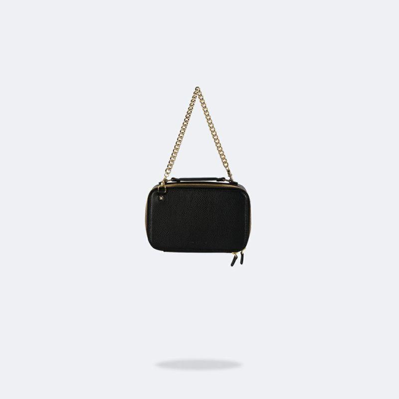 【iPhone 12 mini】CAMERON BLACK BAG キャメロン ブラック バッグ