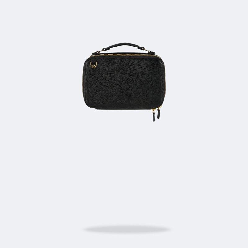 【iPhone 12 Pro/12】CAMERON BLACK BAG キャメロン ブラック バッグ