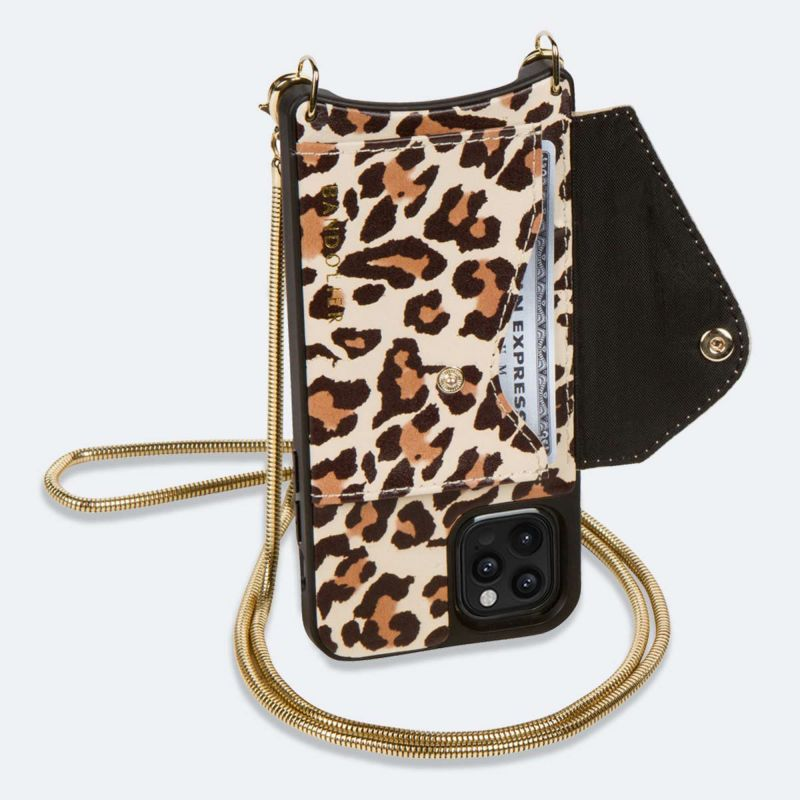 【iPhoneSE/8/7/6s/6】GIA SIDE SLOT LIGHT LEOPARD ジア サイド スロット ライト レオパード