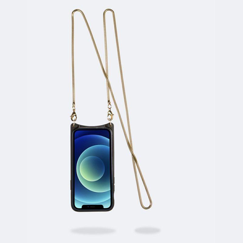【iPhone 12 Pro/12】GIA SIDE SLOT LIGHT LEOPARD ジア サイド スロット ライト レオパード