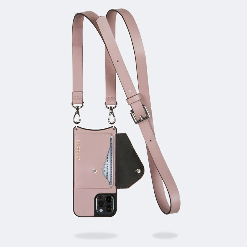 【iPhone 12 Pro Max】HAILEY SIDE SLOT MAUVE ヘイリー サイド スロット モーヴ