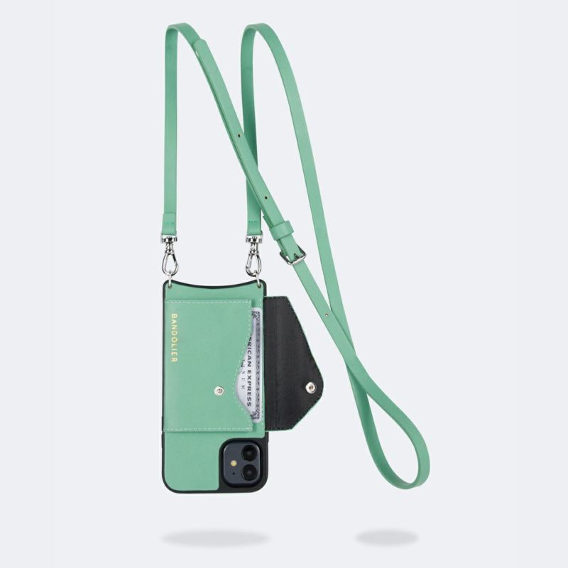 【iPhone 12 mini】DONNA SIDE SLOT LIGHT JADE ドナー サイド スロット ライト ジェード