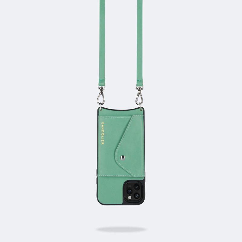 【iPhone 12 Pro/12】DONNA SIDE SLOT LIGHT JADE ドナー サイド スロット ライト ジェード