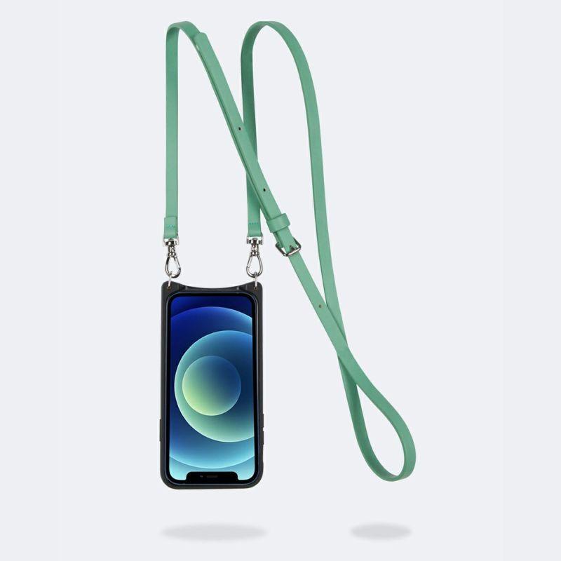 【iPhone 12 Pro Max】DONNA SIDE SLOT LIGHT JADE ドナー サイド スロット ライト ジェード