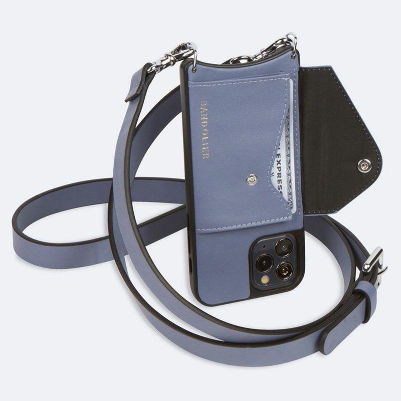 【iPhone 11 Pro】HAILEY SIDE SLOT BLUE SMOKE ヘイリー サイド スロット ブルー スモーク