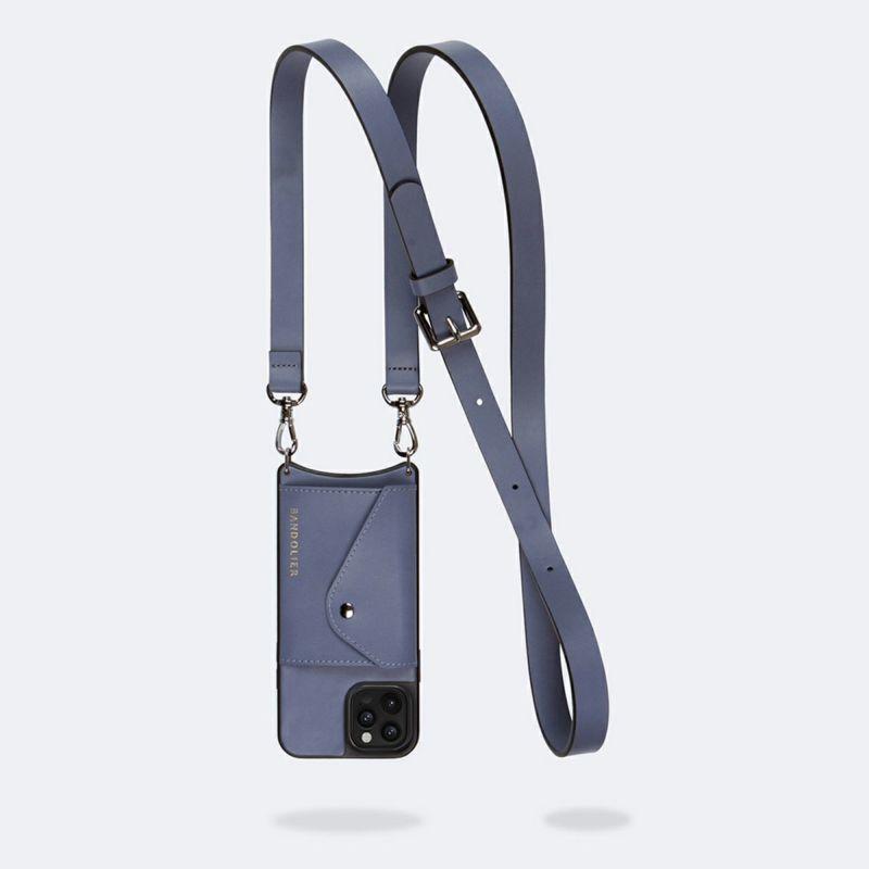 【iPhone 12 Pro/12】HAILEY SIDE SLOT BLUE SMOKE ヘイリー サイド スロット ブルー スモーク