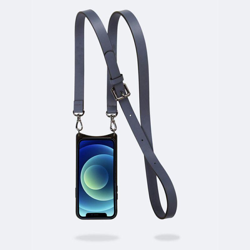 【iPhone 12 Pro Max】HAILEY SIDE SLOT BLUE SMOKE ヘイリー サイド スロット ブルー スモーク