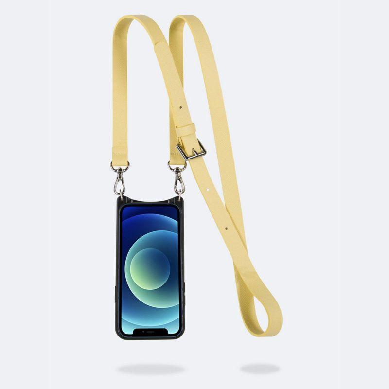 【iPhone 11 Pro】HAILEY SIDE SLOT B.YELLOW ヘイリー サイド スロット バター イエロー
