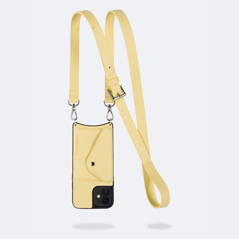 【iPhone 12 mini】HAILEY SIDE SLOT B.YELLOW ヘイリー サイド スロット バター イエロー