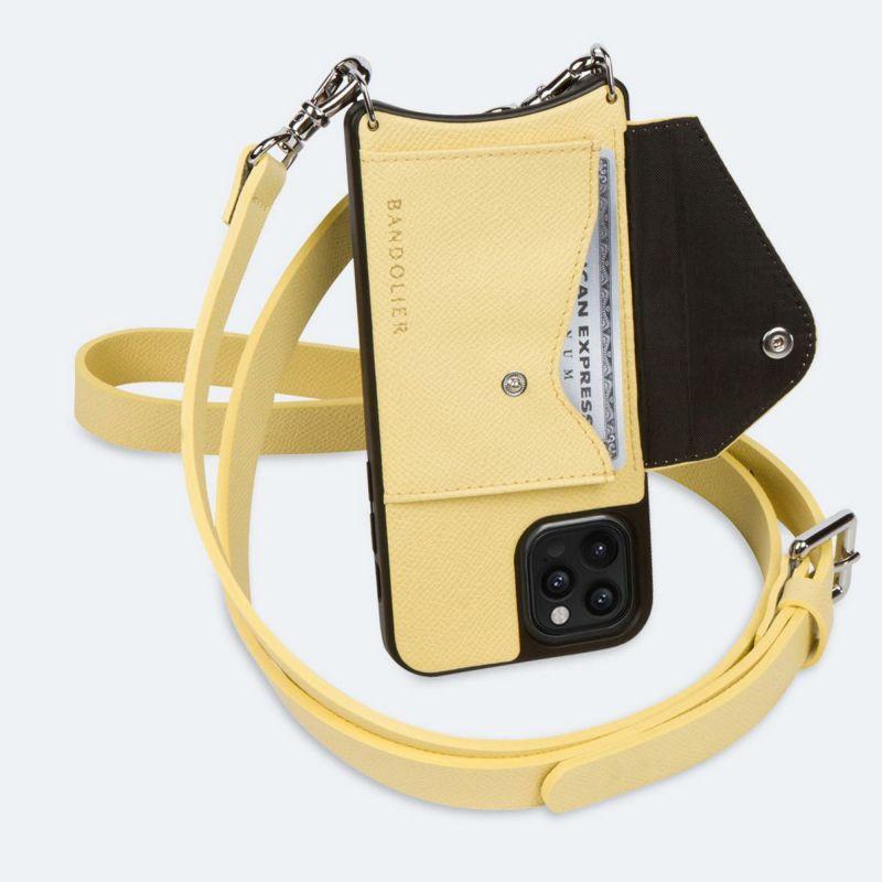 【iPhone 12 Pro/12】HAILEY SIDE SLOT B.YELLOW ヘイリー サイド スロット バター イエロー