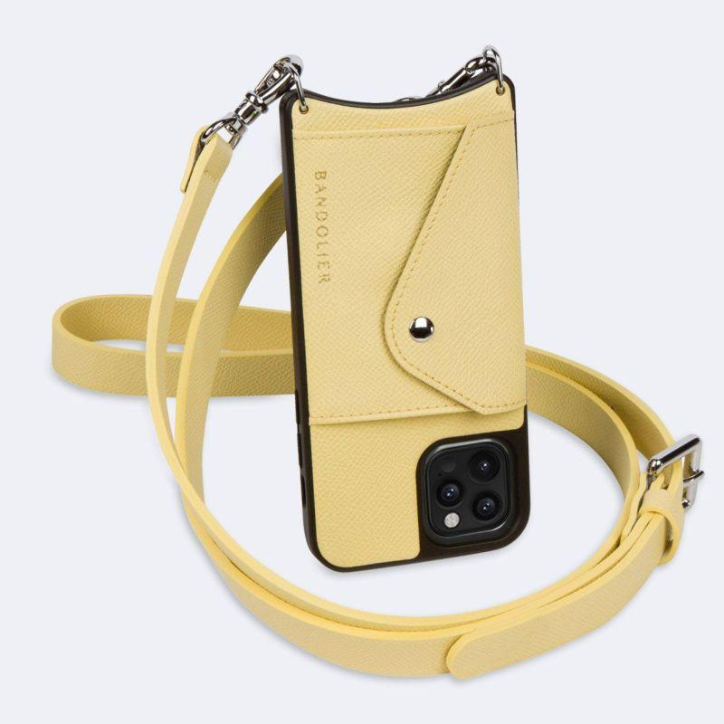【iPhone 12 Pro Max】HAILEY SIDE SLOT B.YELLOW ヘイリー サイド スロット バター イエロー