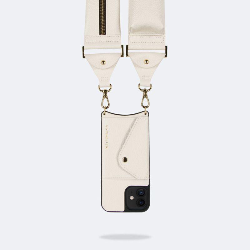 【オンライン限定】【iPhone 12 mini】BILLIE SIDE SLOT IVORY ビリー サイド スロット アイボリー