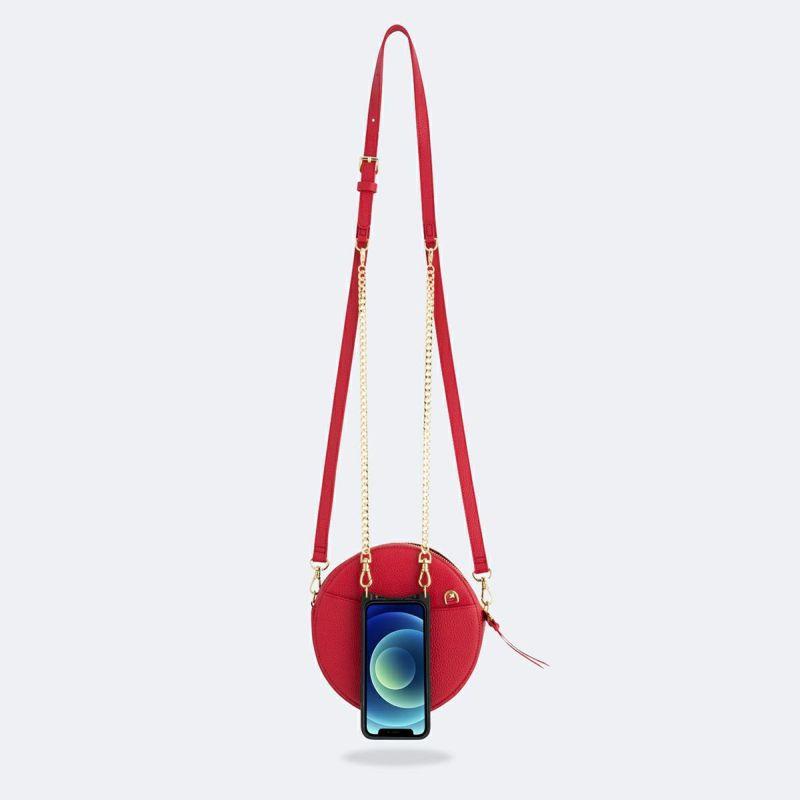 【オンライン限定】【iPhone 12 mini】LEAH RED BAG リア レッド バッグ