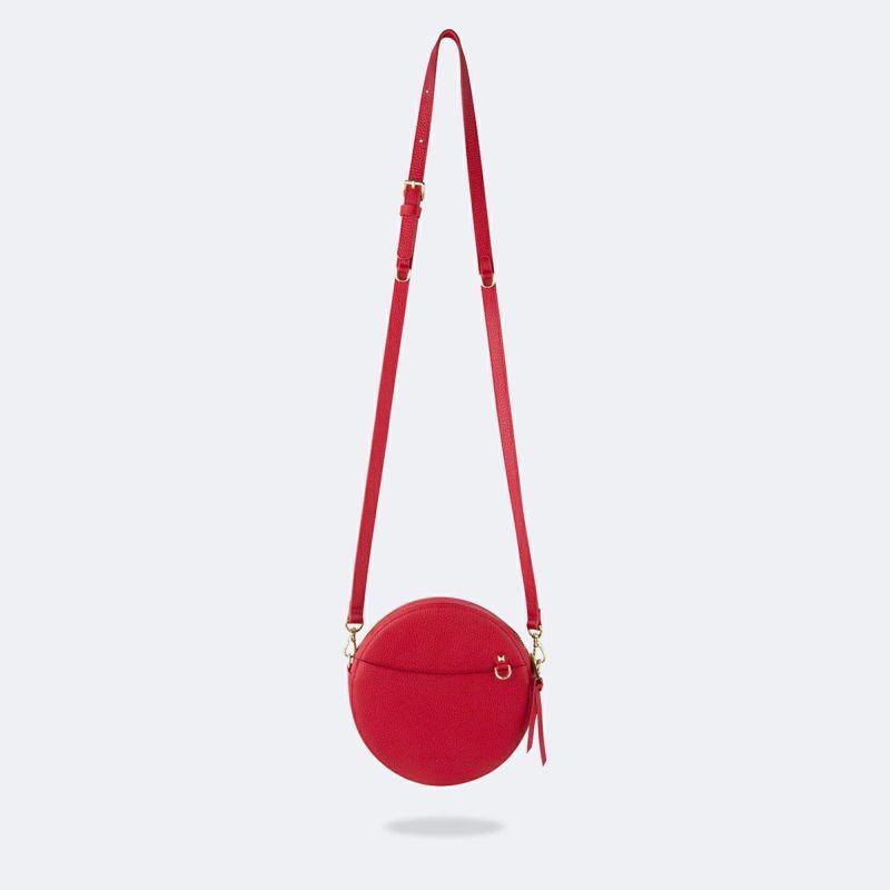 【オンライン限定】【iPhone 12 Pro/12】LEAH RED BAG リア レッド バッグ