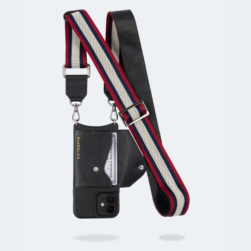 【iPhone 12 mini】BELLA SIDE SLOT RED WHITE NAVY ベラ サイドスロット レッド ホワイト ネイビー