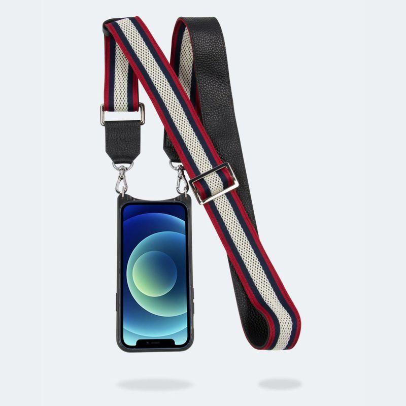 【iPhone 12 Pro Max】BELLA SIDE SLOT RED WHITE NAVY ベラ サイドスロット レッド ホワイト ネイビー