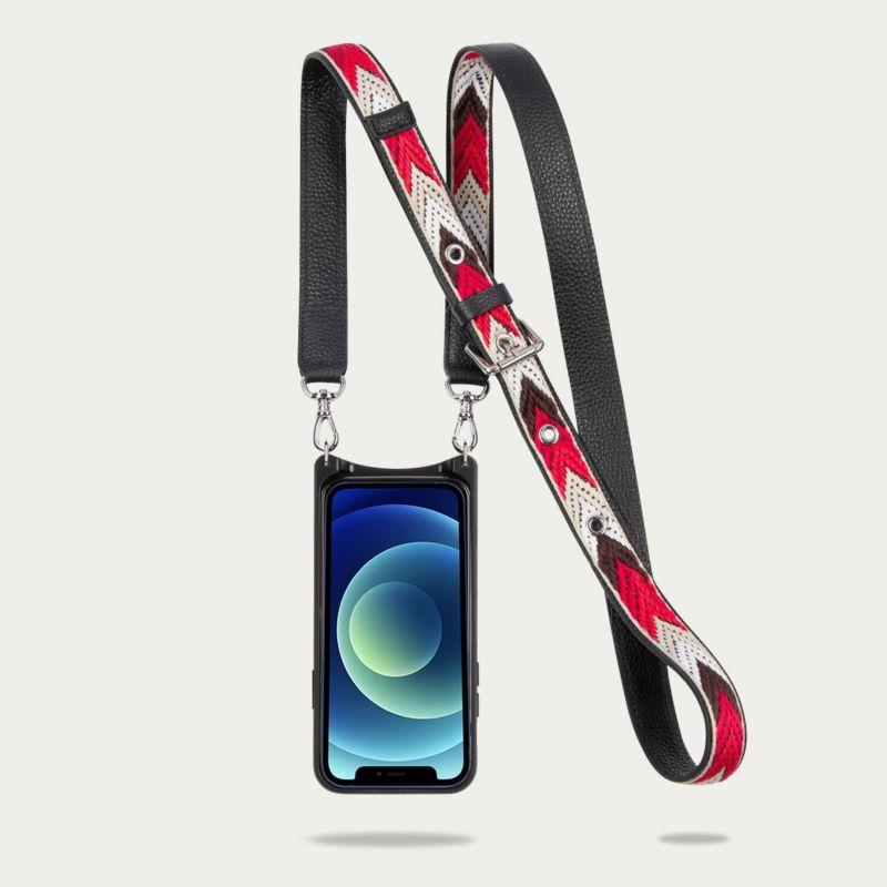 【iPhone 12 mini】LAYLA SIDE SLOT BLACK レイラ サイドスロット ブラック