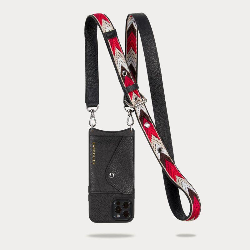 【iPhone 12 Pro/12】LAYLA SIDE SLOT BLACK レイラ サイドスロット ブラック