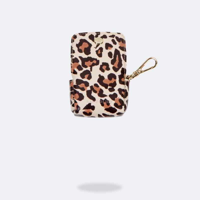 AirPods Pro POUCH LIGHT LEOPARD エアーポッズ プロ ポーチ ライト レオパード