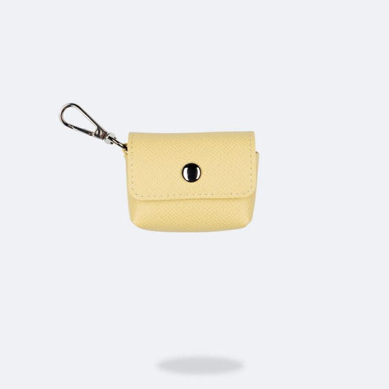 AirPods Pro POUCH BUTTER YELLOW エアーポッズ プロ ポーチ バター イエロー