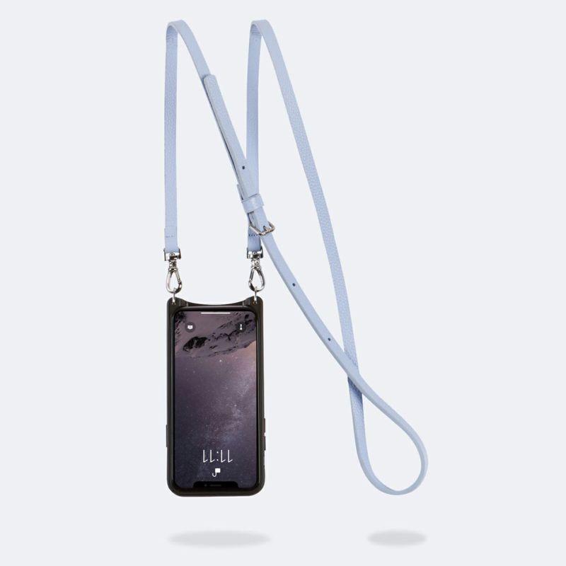 【iPhone 12mini】DONNA SIDE SLOT PERIWINKLE ドナー サイド スロット ペリウィンクル