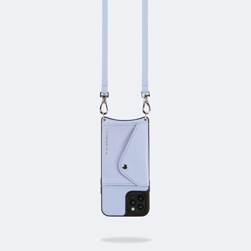 【iPhone 12 Pro/12】DONNA SIDE SLOT PERIWINKLE ドナー サイド スロット ペリウィンクル