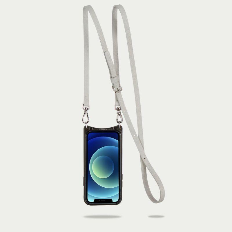 【iPhone SE/8/7/6s/6】DONNA SIDE SLOT LIGHT GREY ドナ サイドスロット ライトグレー