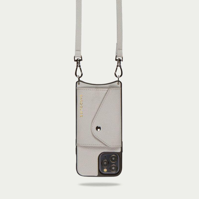 【iPhone 11 Pro】DONNA SIDE SLOT LIGHT GREY ドナ サイドスロット ライトグレー