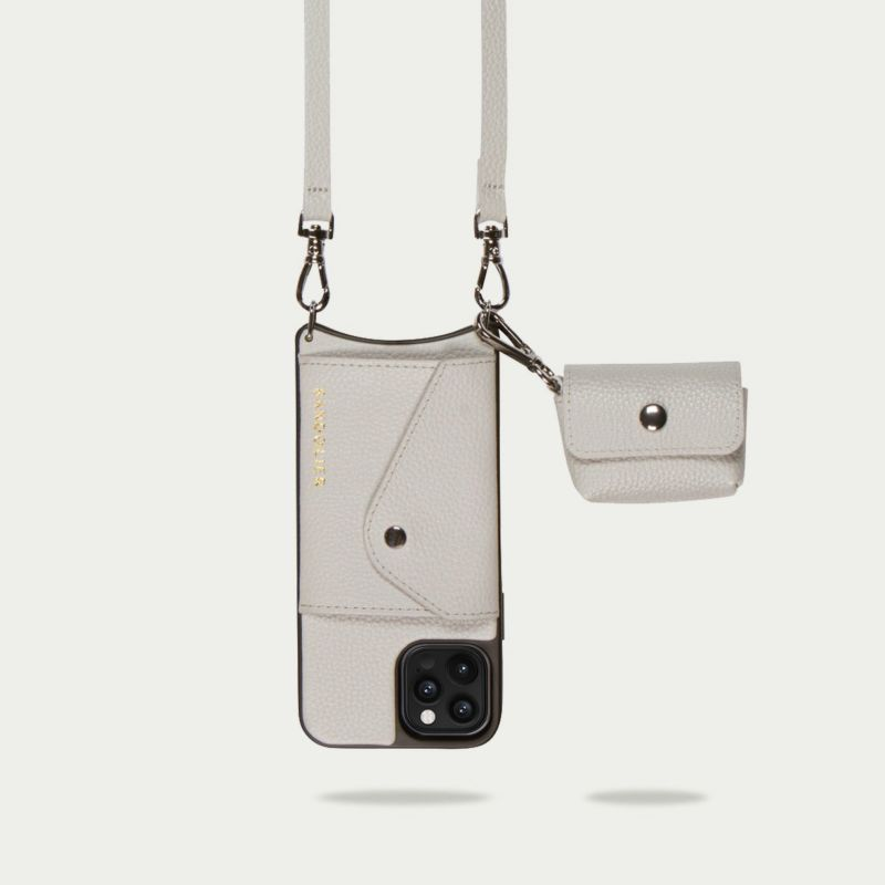 AirPods Pro POUCH LIGHT GREY エアーポッズ プロ ポーチ ライトグレー