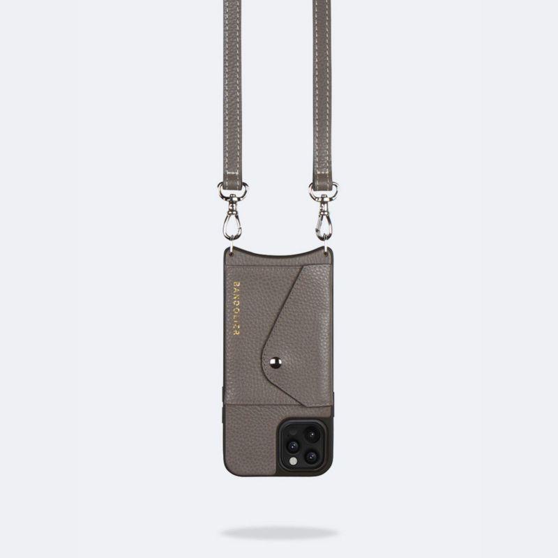 【iPhoneSE/8/7/6s/6】CASEY SIDE SLOT GREY ケイシー サイドスロット グレー