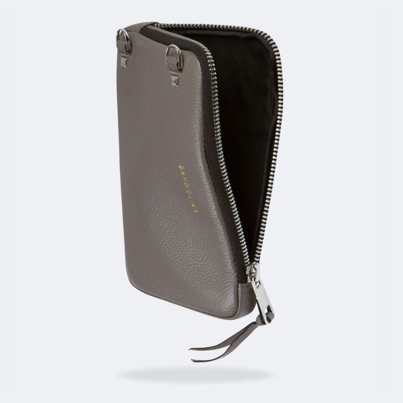 EXPANDED GREY POUCH エキスパンデット グレー ポーチ