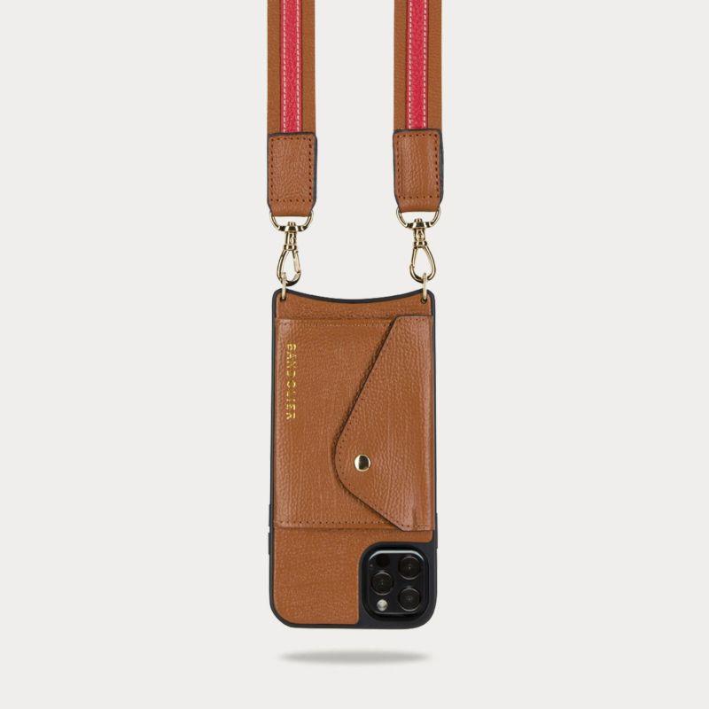 【iPhone 12 Pro Max】PEYTON SIDE SLOT SIENNA ペイトン サイドスロット シエンナ