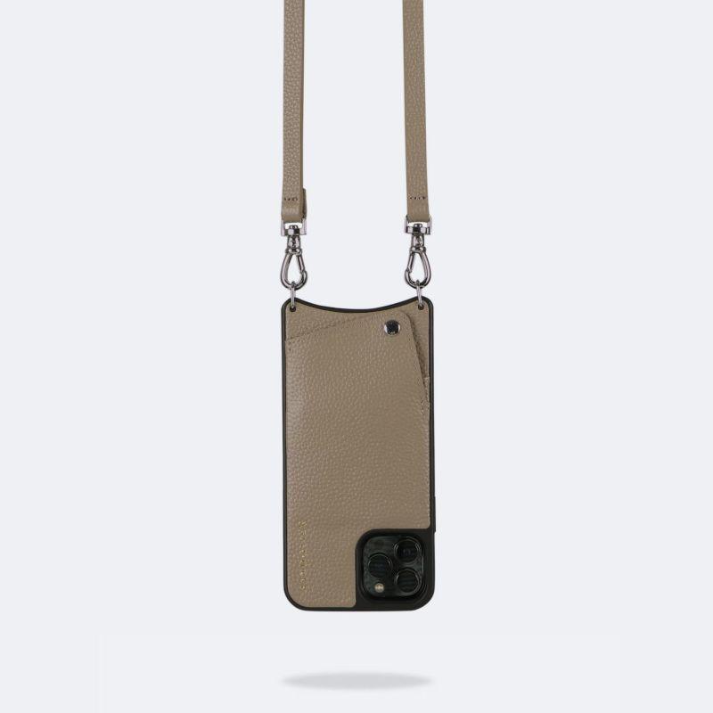 【日本限定】【iPhone 13 Pro】EMMA LIGHT TAUPE エマ ライトトープ