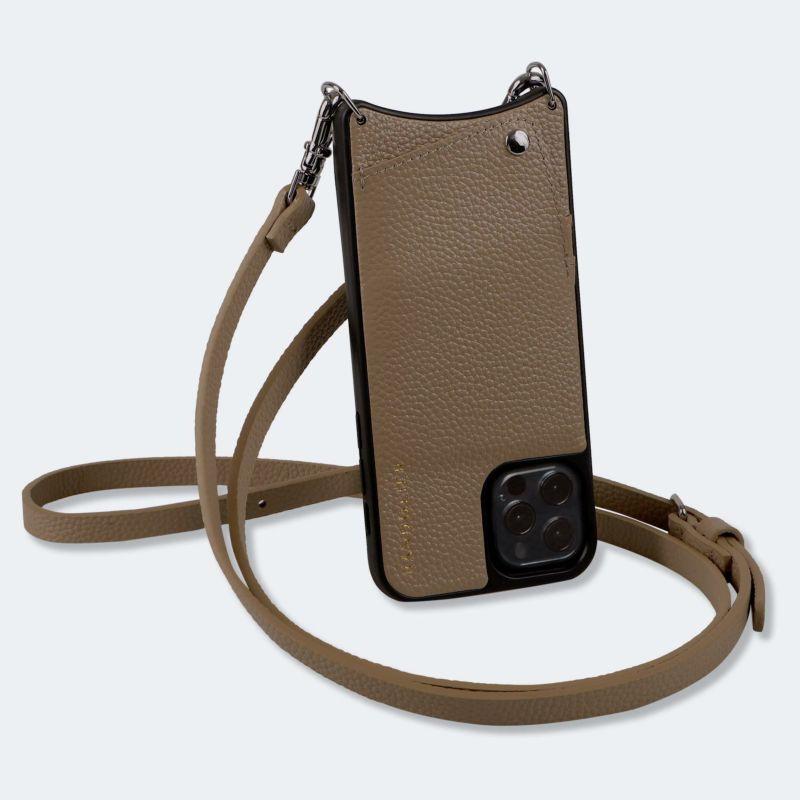 【日本限定】【iphone 12 Pro/12】EMMA DARK TAUPE エマ ダークトープ