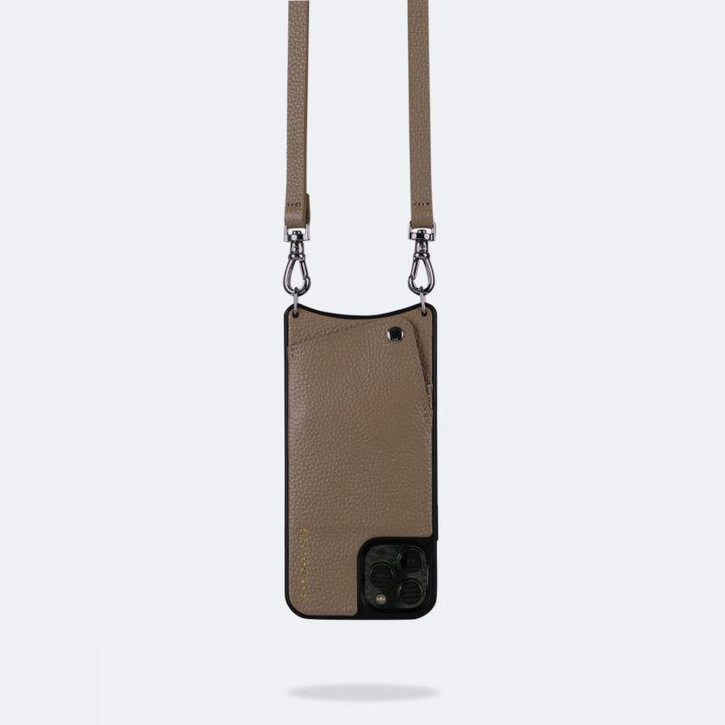 【日本限定】【iPhone 13 Pro】EMMA DARK TAUPE エマ ダークトープ