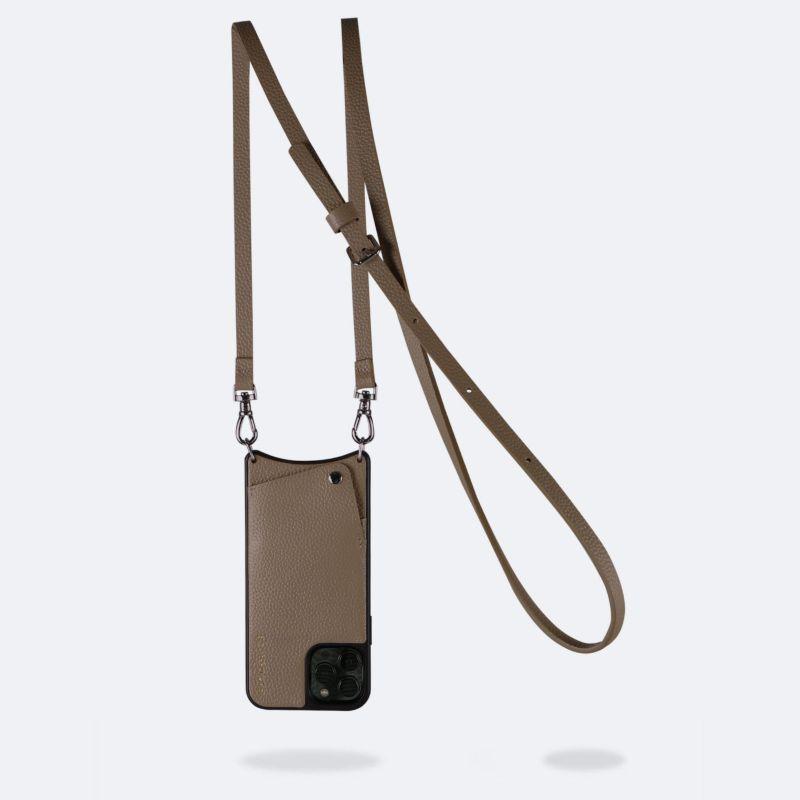 【日本限定】【iPhone 13 Pro Max】EMMA DARK TAUPE エマ ダークトープ
