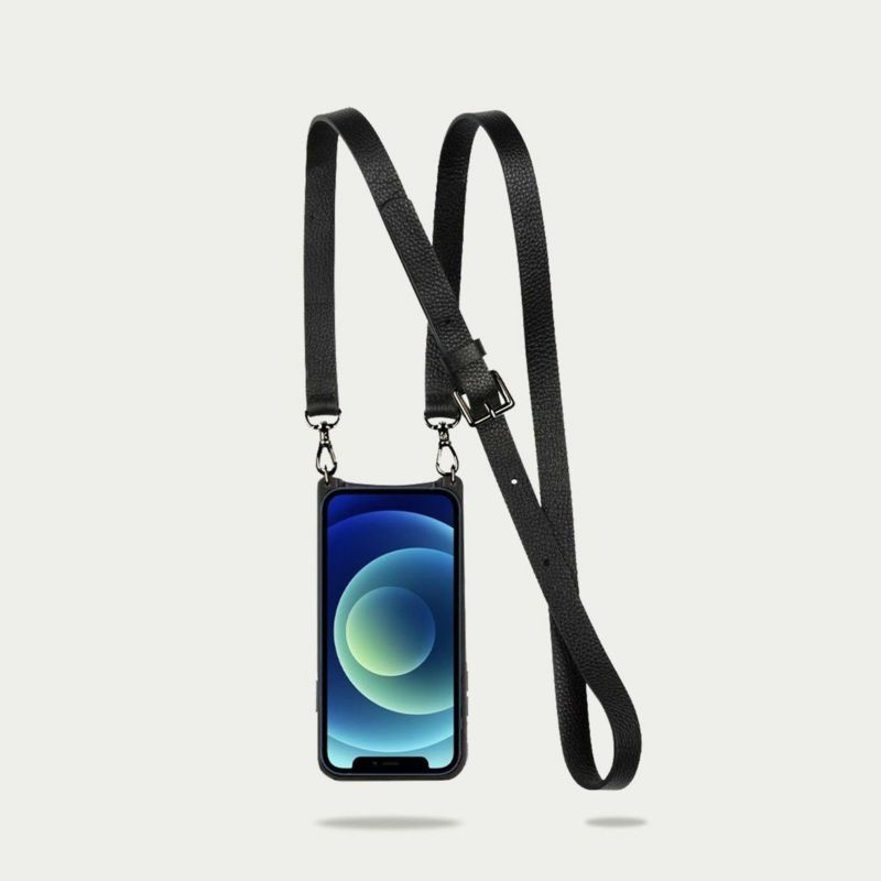 【iPhone 13 mini】HAILEY SIDE SLOT PEWTER ヘイリーサイドスロット ピューター